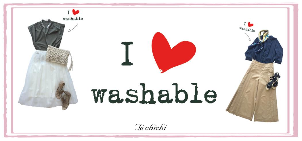 I love washable